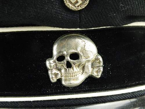 Help in Black SS Cap authentication