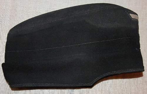 Black Panzer Cap
