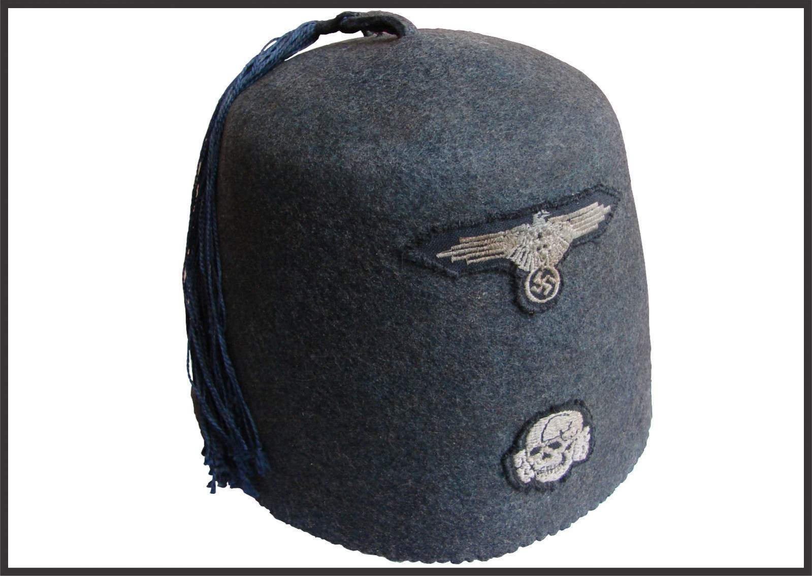 SALE WWII Handschar Division Fez 13th Waffen SS 13th division German  extremely rare 84f60167c2a