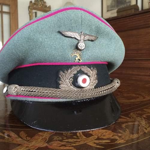 Infantry Officer Visor Cap by Erel