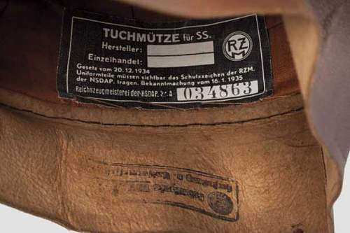 Theodor Eicke club cap.  Too good to be true.