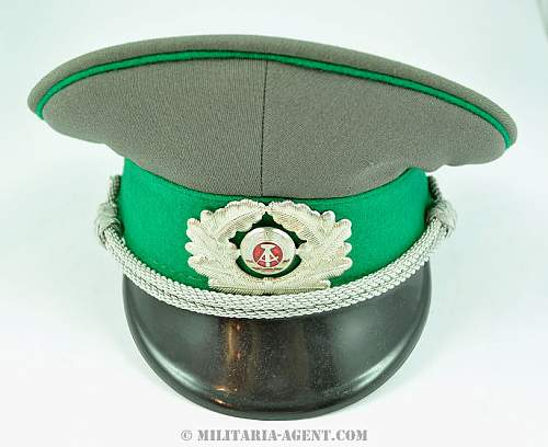 Would like opinions on green piped SS visor...