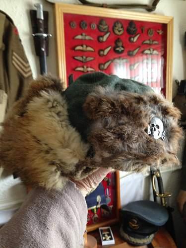 Rabbit Fur Winter Hat.