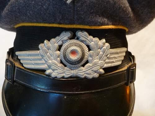 Luftwaffe NCO Cap Fake or Genuine?