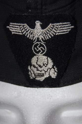 ss panzer oversoas cap