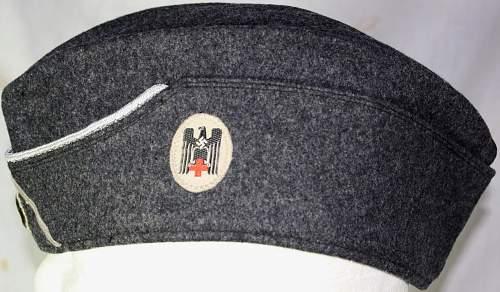 Officers DRK overseas cap