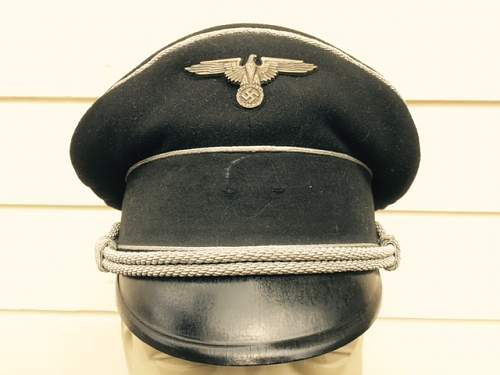 Allg SS Generals visor - Who made it?