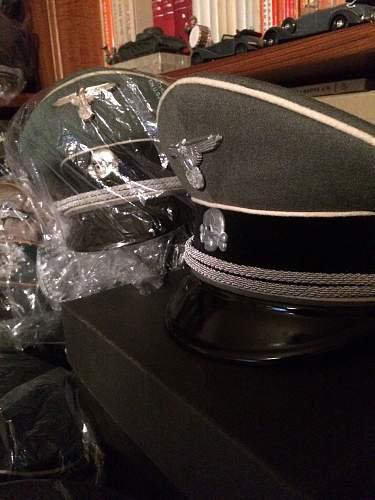 SS Officer's Cap - Holter's - Legit?