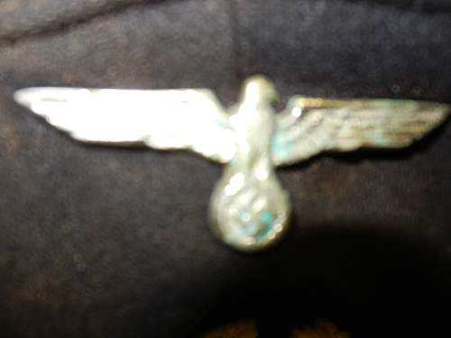 U-boat commander's visor?