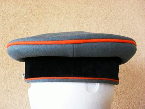 Waffen SS artillerie officers schirmutze: Good or copy?