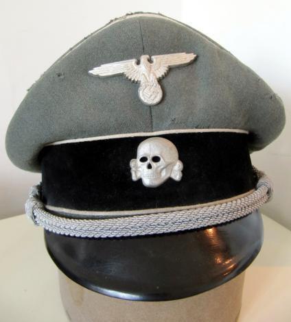 W-SS Officer Visor Cap