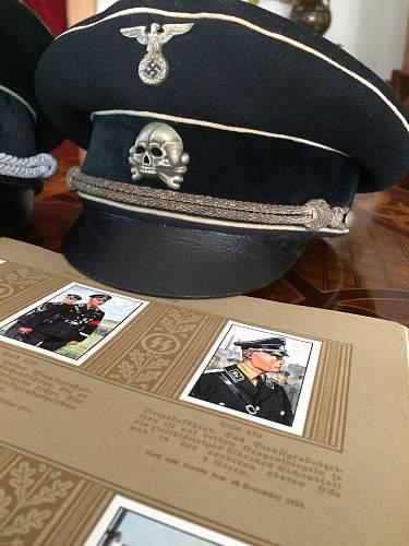 SS Infantry Visor Cap