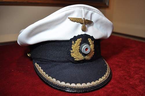 Click image for larger version.  Name:Kriegsmarine Junior officer's cap (4).jpg Views:115 Size:98.5 KB ID:892762