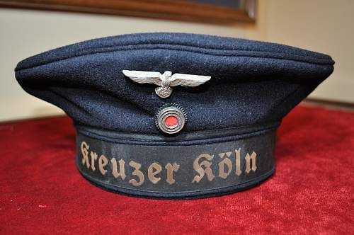 """Kriegsmarine """"donald duck"""" cap"""