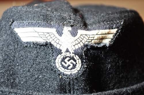 Panzer side cap authentication