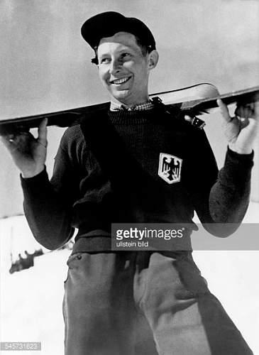 Olympia ski cap 1936