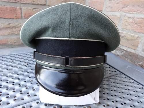 SS NCO Schirmmutze