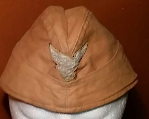 Luftwaffe tropical side cap for authentication please