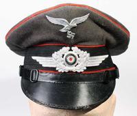 Luftwaffe Flak NCO's schirmutze