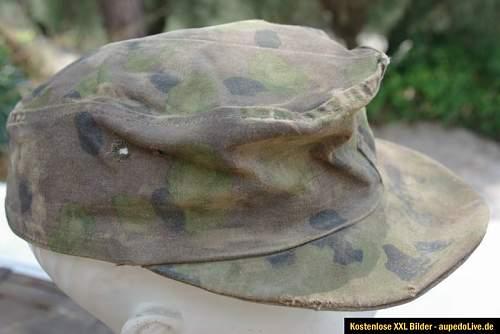 Feldmutze Camo Waffen SS real or fake?
