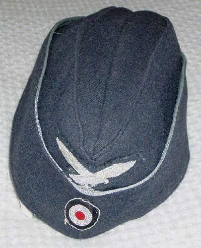 German WWII Luftwaffe Officers Fliegermutze