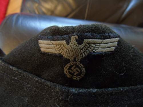 Heer Panzer Cap Authentication