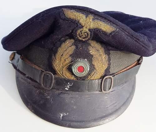 Kriegsmarine Visor Cap for reviews...