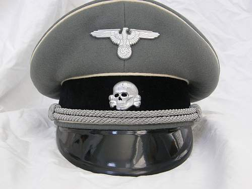 W-SS Officer's Visor from Wilkins book