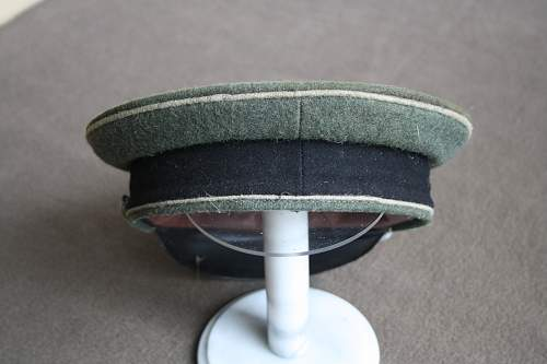 Visor cap postwar or ???