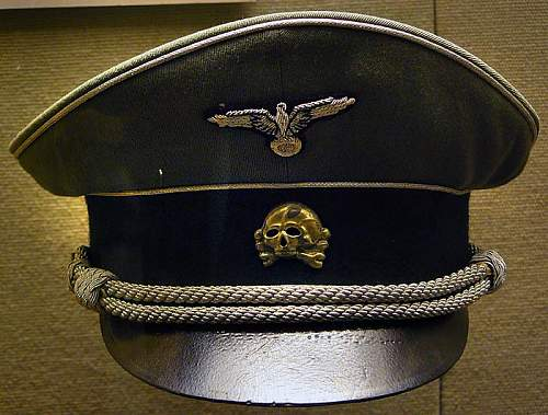 Click image for larger version.  Name:Sepp Dietrich cap at West Point.jpg Views:63 Size:72.0 KB ID:933783