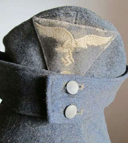 M43 luftwaffe cap with rb number - ask for help