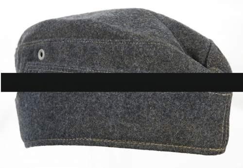 Luftwaffe overseas cap - in Heer style?