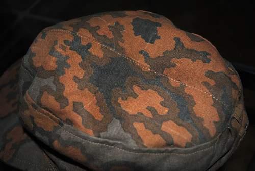 Waffen-SS Field cap Camo