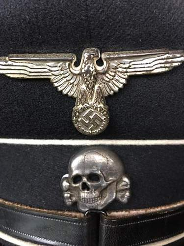 SS Black EM visor for review