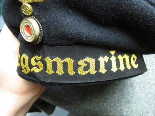 "Kriegsmarine ""Donald Duck"" Enlisted Cap"
