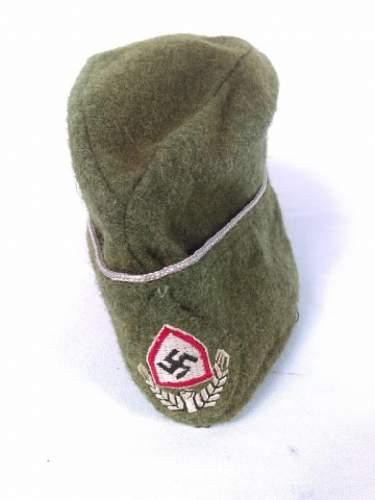 Rad sidecap 1942 pattern