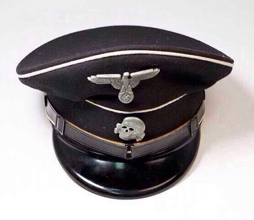 SS Black-top EM/NCO Visor for Review & Comment