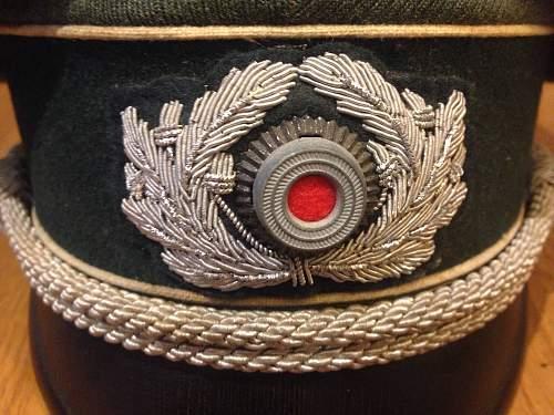 Heer Officers Visor