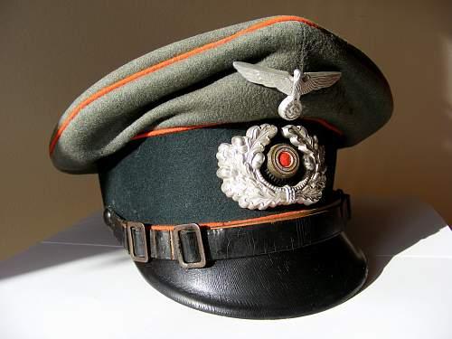 Wh visor cap