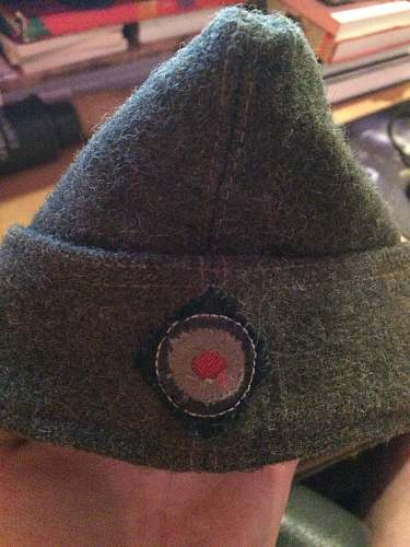 unknown german side cap?