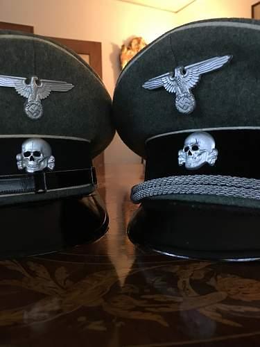 Waffen - SS Visor - EM / NCO