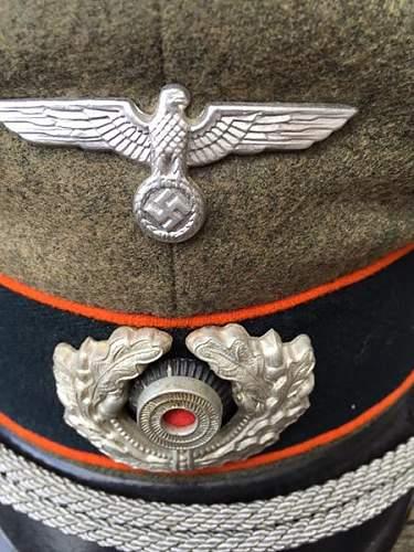 Feldgendarmerie Officers Visor