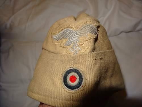 Luftwaffe DAK cap