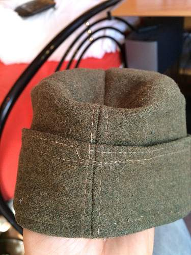 german ww2 side cap