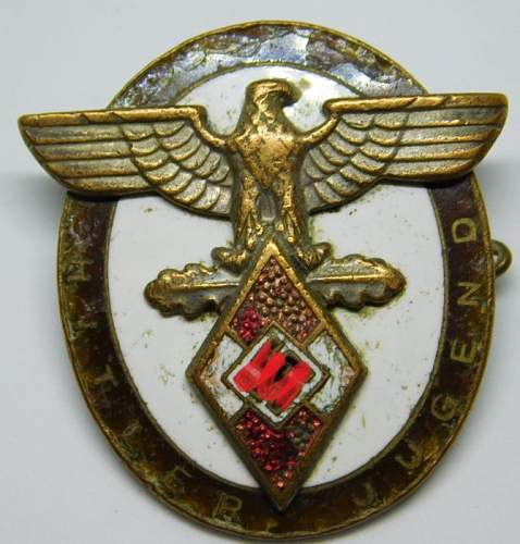 Rare! HJ High Command Medal for Distinguished Foreigners