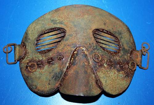 Very Cool WW1 Mask!
