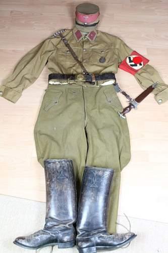 Amazing WW2 Complete German SA (Sturmabteilung) Uniform!