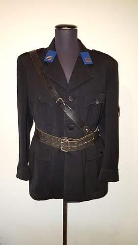 Rare 1935 Dutch NSB Uniform