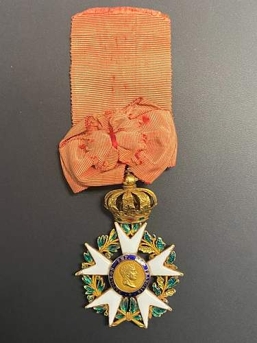 Have a look at this special Legion of Honor Medal!!