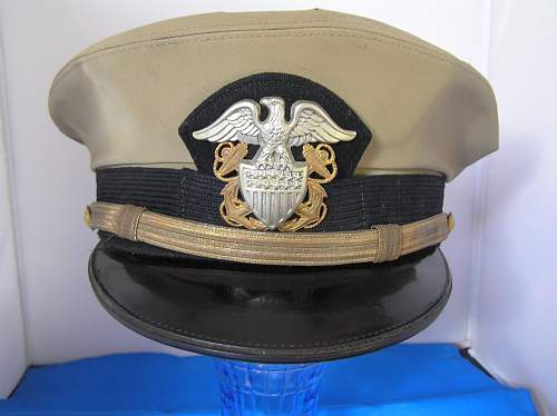 US navy officer cap real?